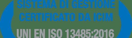 4T QuattroTi Certificazione UNI EN ISO 13485 2016
