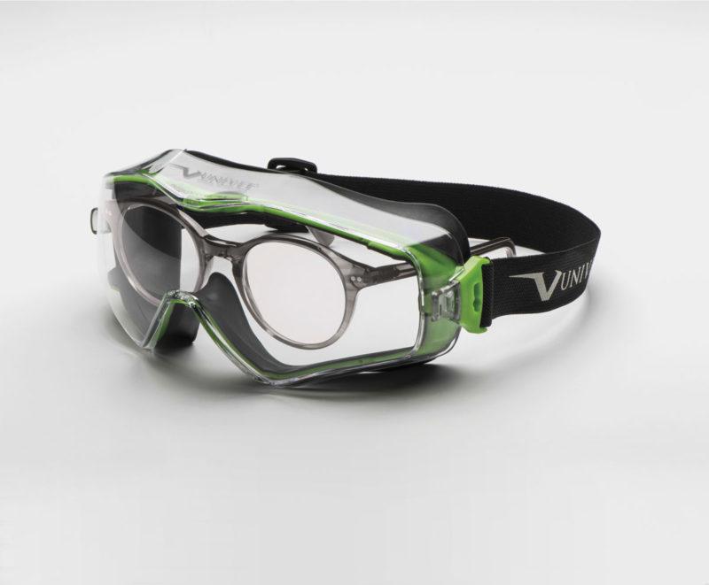 UNIVET Safety Maschera 6x3 sovrapposta ad occhiale