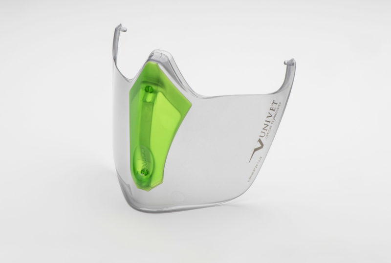 UNIVET Safety protezione facciale per Maschera 6x3