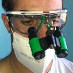 Univet AIR X flip up con occhiali Univet 5X1 Hybrid
