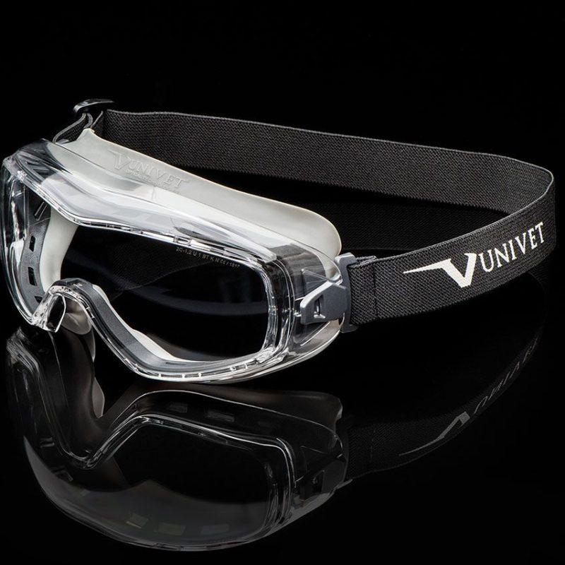 UNIVET Safety Maschera 620UP sfondo nero